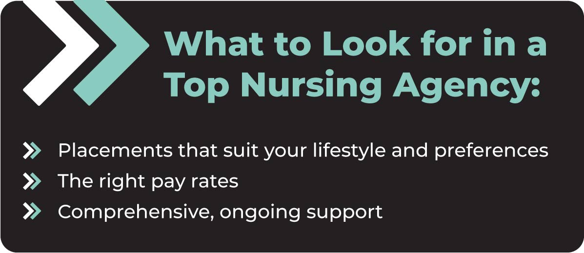 What to look for in a Top Nursing Agency